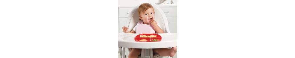 Accesorios de alimentación para el bebé. Cubiertos, vajillas BLW .